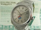 Rolex AIR KING DOMINOS PIZZA BOX & PAPERS  -- MINT --