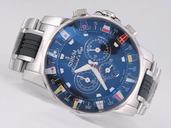 Corum Admirals Cup 985.631.20 Automatic Chronograph 48mm Blue Dial Watch