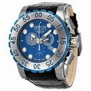 Invicta Reserve Chronograph Blue Dial Stainless Steel Men's Watch 11023