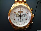 Invicta Vintage Collection Elite Chronograph Rose watches