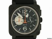 Bell & Ross BR 03-94 Chronograph Black & White 42x42mm watches
