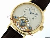 Replica Breguet Grand Complication Tourbillon Yellow Gold Ultra Thin RARE Watch