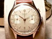 Invicta Solid Pink Gold Oversize Vintage Chronograph watches