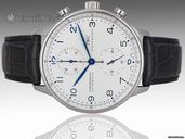 IWC Portuguese Automatic Chronograph - 41mm Stainless Steel - Ref 3714 - Brand New watches