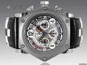 B.R.M SCR Racing 48mm Chronograph Ref. SCR-48CNRacing - SPECIAL LIMITED EDITION - Only 150 Pieces - 48mm Hexogonal Titanium Case - Skeletonixed Dial - Black Hands - BNIB - Brand New watches