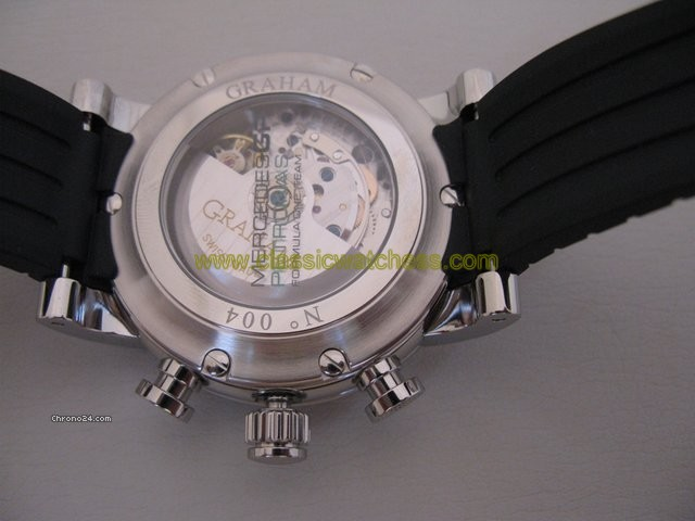 replica Graham MERCEDES GP CARBON DIAL SILVERSTONE WATCHES 1
