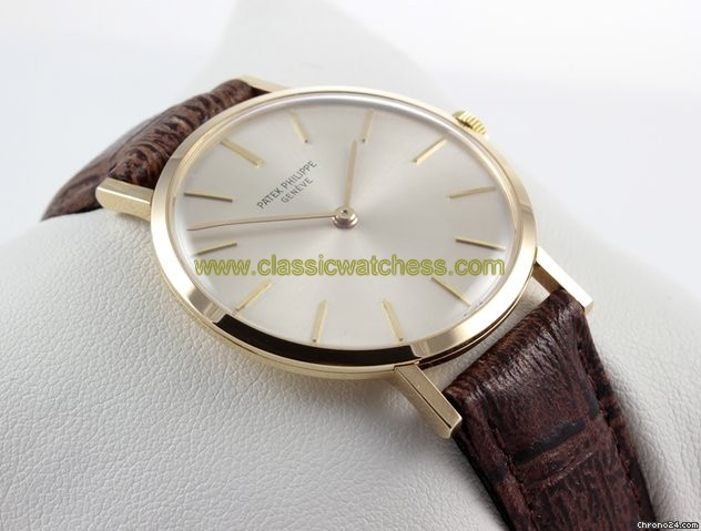 replica Patek Philippe Calatrava 18 Karat Gelbgold 34mm WATCHES 1